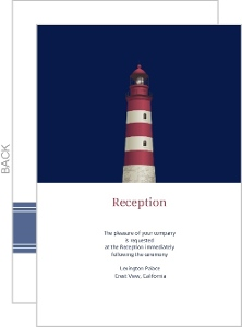 Cape Cod Lighthouse Enclosure Card