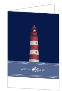 Cape Cod Lighthouse Thank You Card