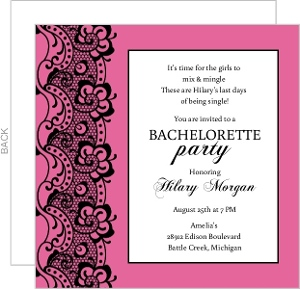 Bachelorette Party Invitations Bachelorette Party Invites