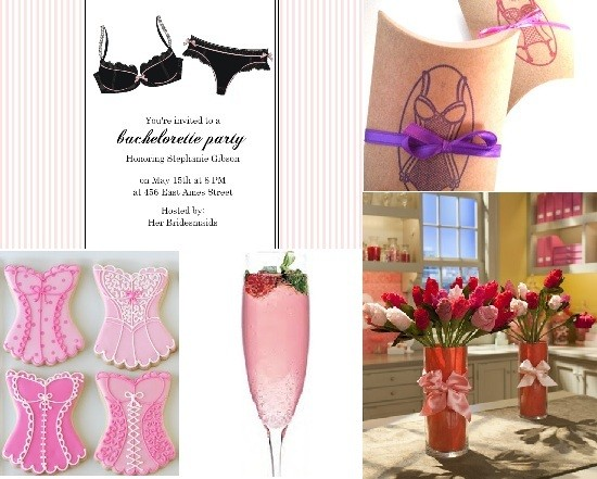 Lingerie Bachelorette Party Theme