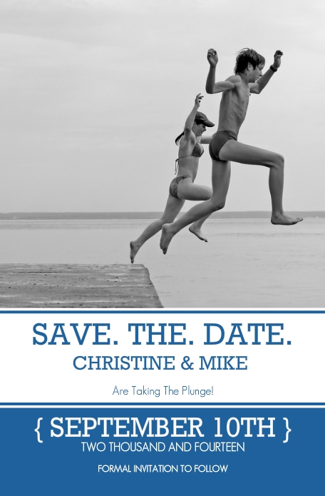 save the date photo ideas