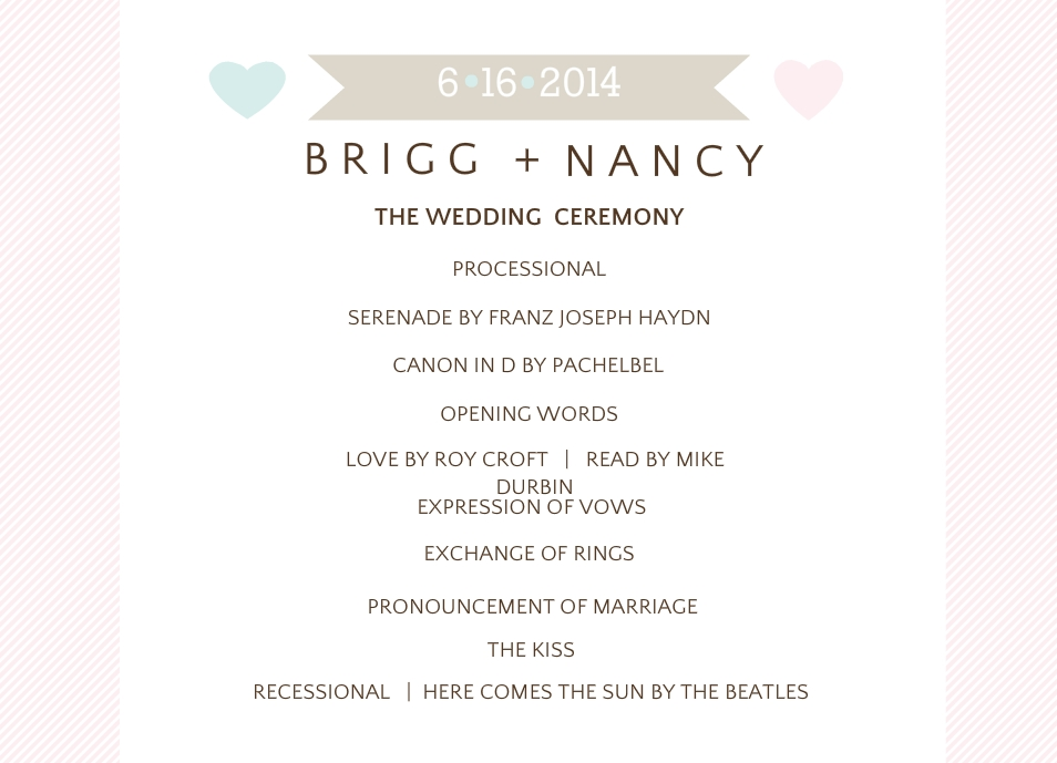 day of wedding stationery wedding programs wedding menus more
