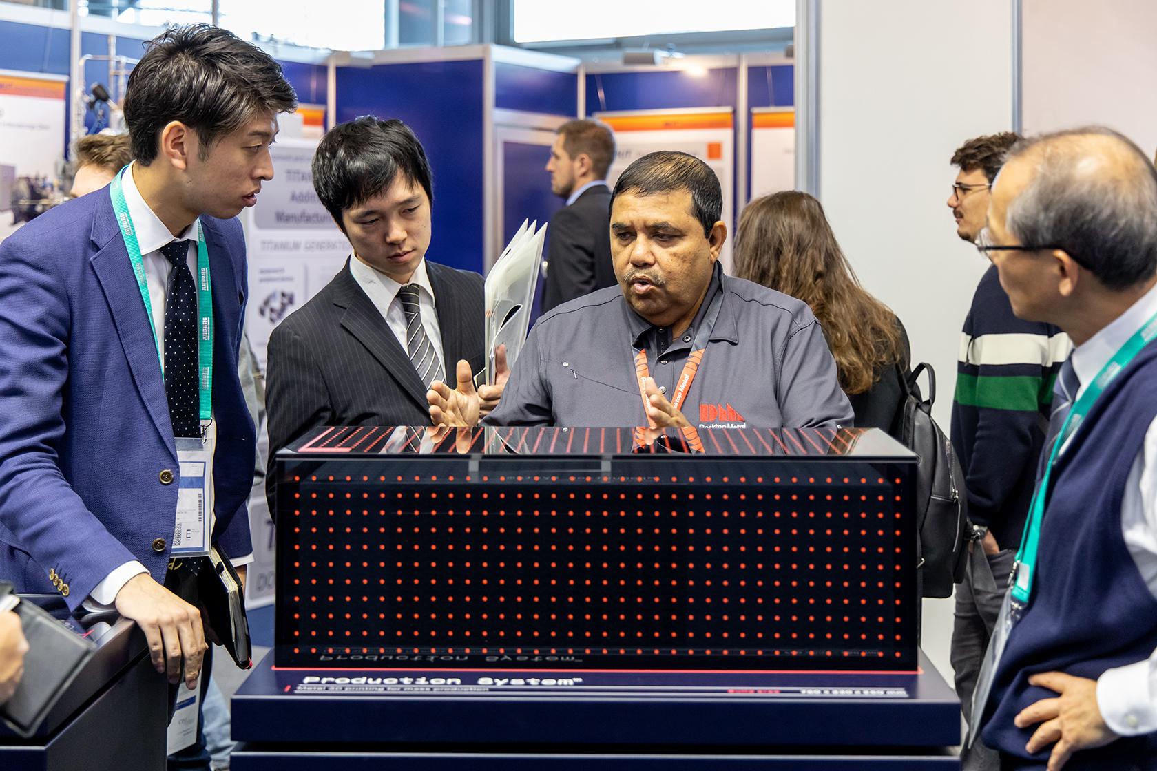 Booth Desktop Metal Formnext 2018 2 I4 A0885