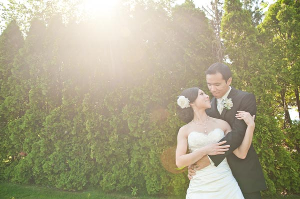 Here's a pic of my hubby and I on our wedding day. It was a beautiful day (albeit with some problems that could've been a disaster - another story for another day) and I couldn't have asked for a better wedding. @dessertangel