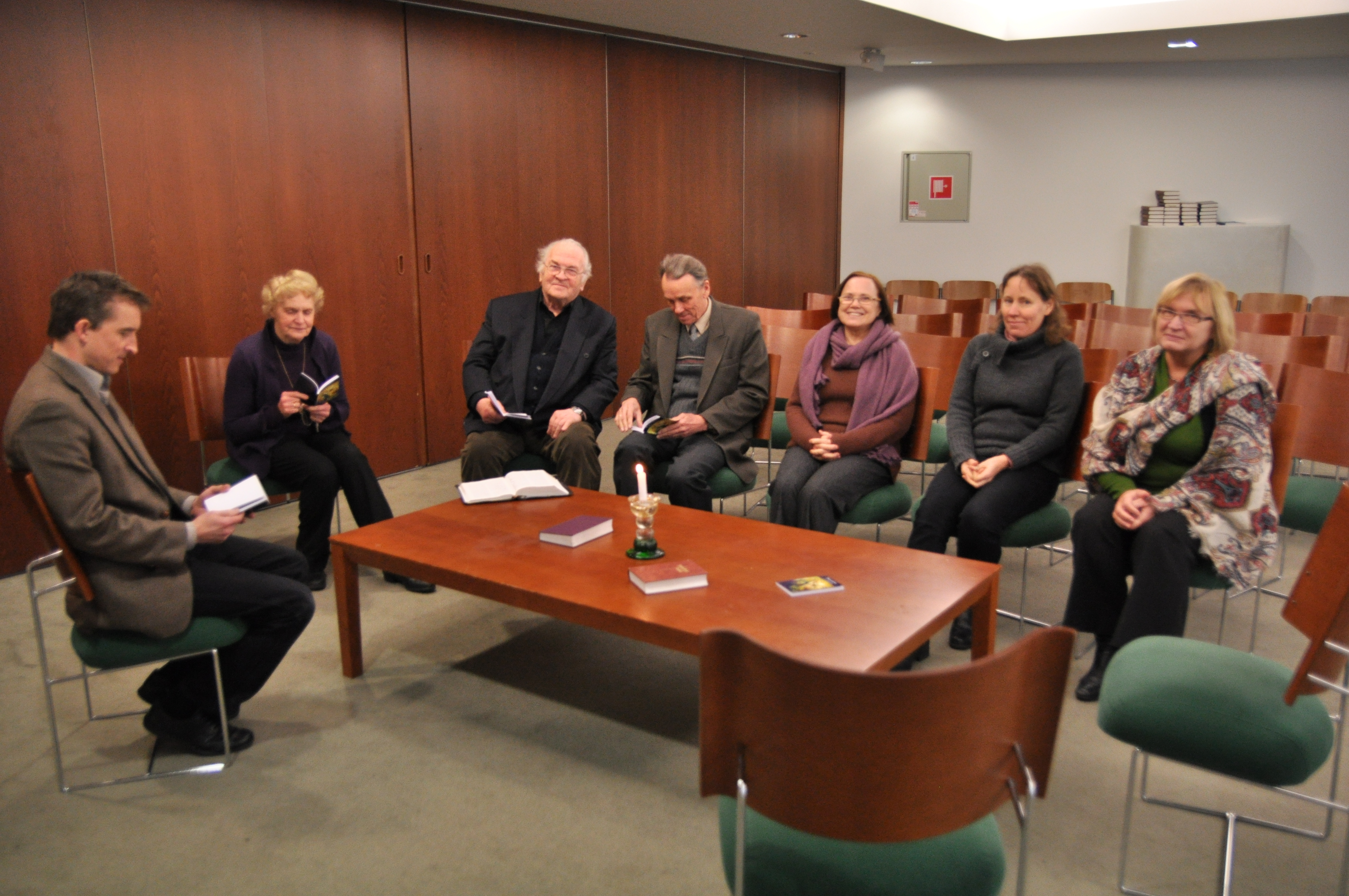 The Noonday Prayer Meeting With The Ur Devotional In Tallinn Umc