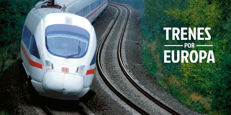Trenes por Europa