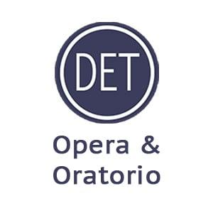 Opera and oratorio
