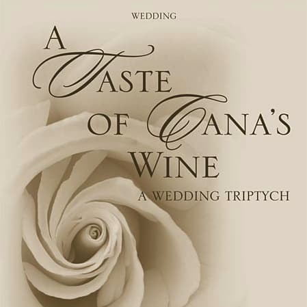 wedding album cover: rose unfolding