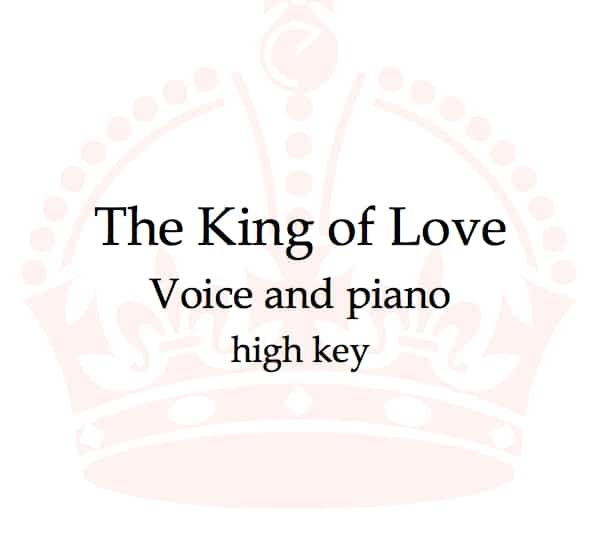 King of Love product image: a crown
