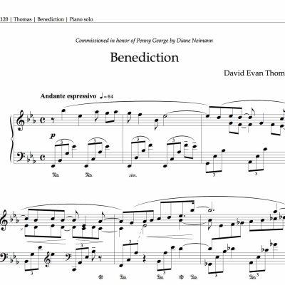 Benediction, product image