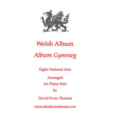 Product image for Welsh folk Album: red dragon and text