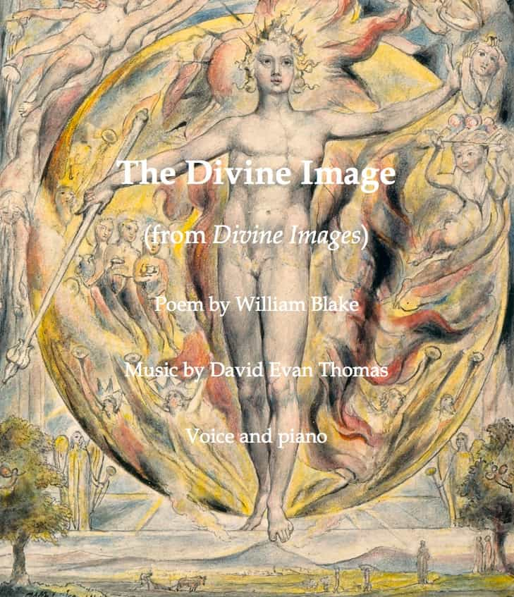 Product image for Blake humanist song Divine Image