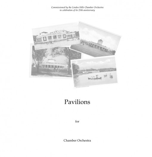 Pavilions chamber orchestra suite Product Image