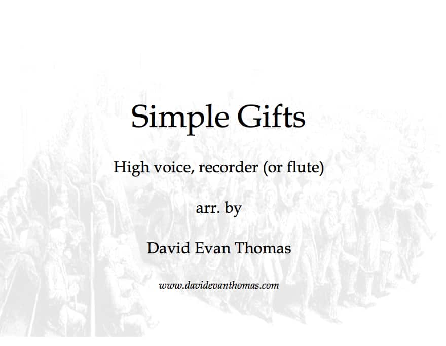 Product image for Simple Gifts