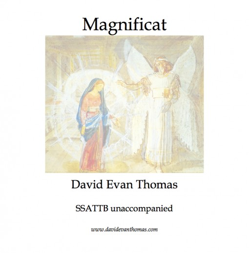 magnificat image: painting of annunciation