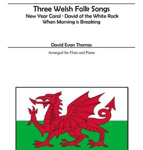 Welsh Folk Songs red dragon
