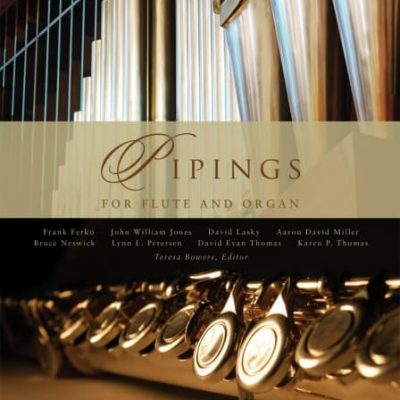 organ pipes and flute
