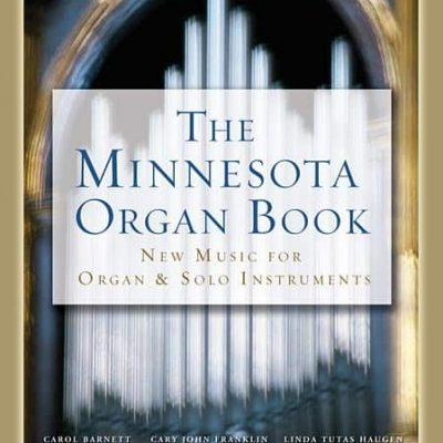 Minnesota Organ Book cover for flute and organ piece