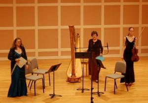 flute viola harp trio