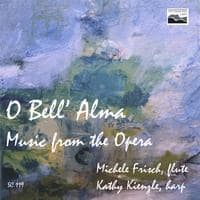 O Bell' Alma flute and harp CD cover