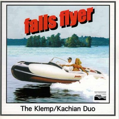 image of falls flyer boat on oboe and guitar CD cover