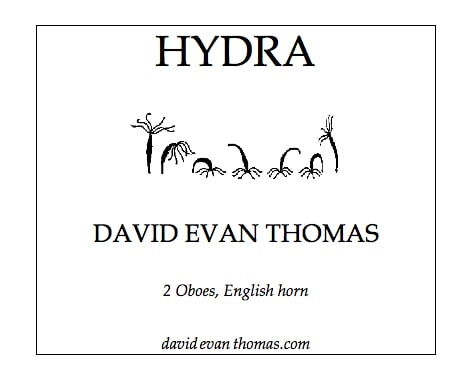 product image for Hydra for oboe trio