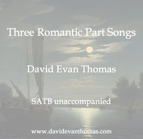 romantic part songs image of moonlight over water