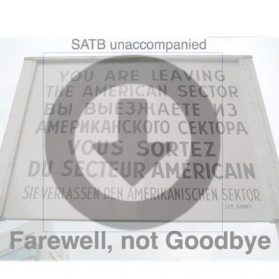 Farewell Product image
