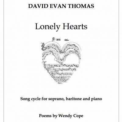 duo song cycle product image: drawing of musical heart