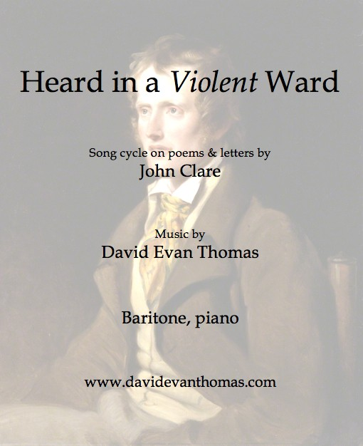 product image of song cycle for baritone, painting of John Clare