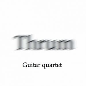 guitar quartet Thrum grouped product image