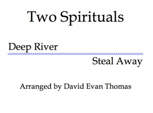 Product image for Two Spirituals