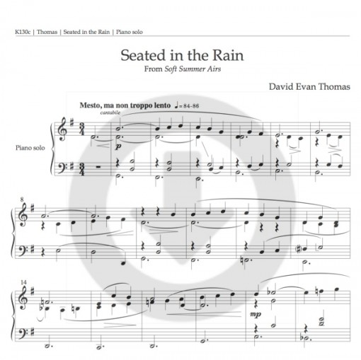 Seated in the Rain download product image