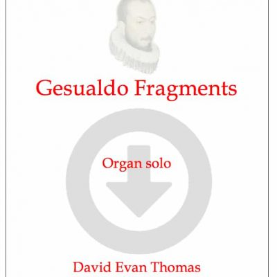 Gesualdo Fragments product image