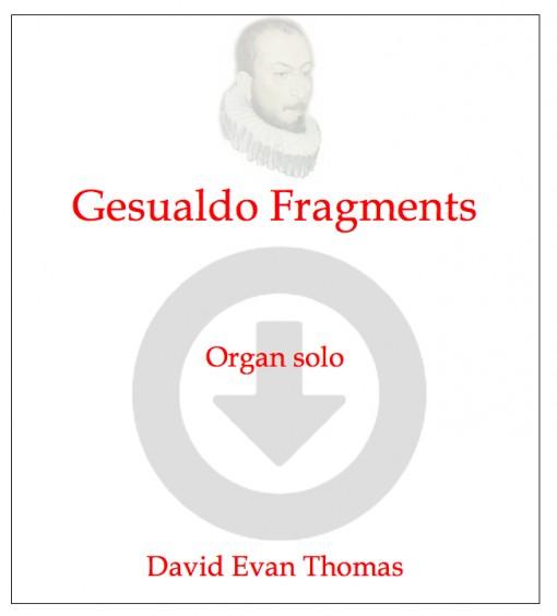 Gesualdo Fragments product image