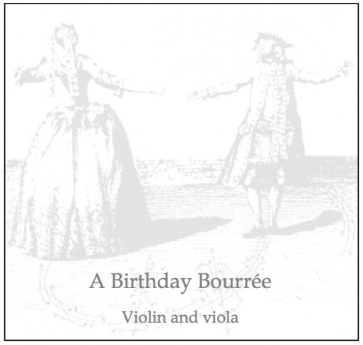 Birthday Bourree product image