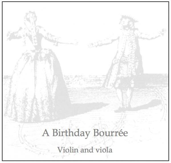 Birthday Bourree product image