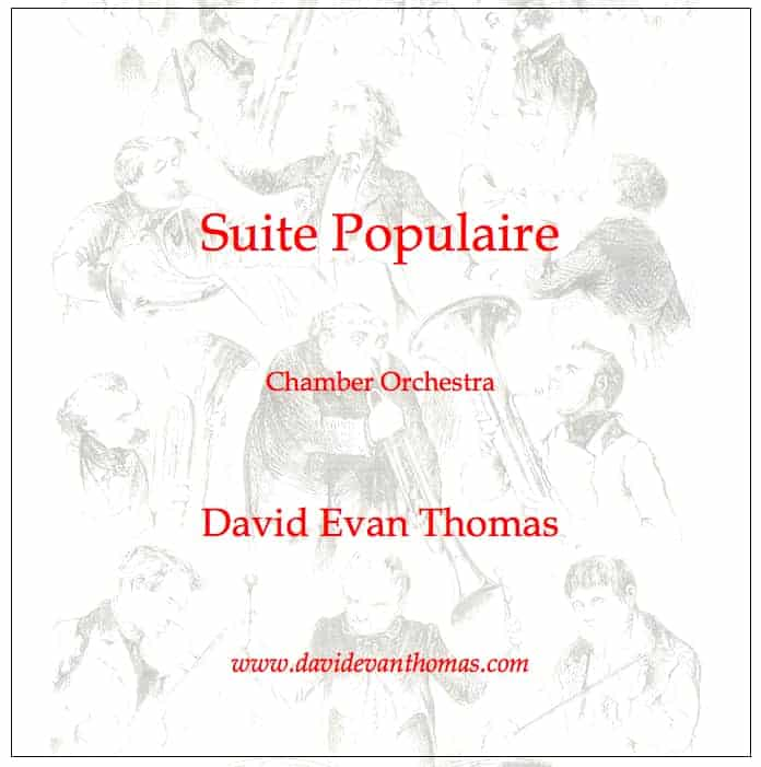 Suite product image: caracature of orchestra