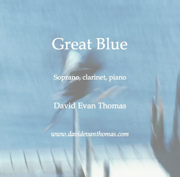 soprano, clarinet and piano image of blue heron