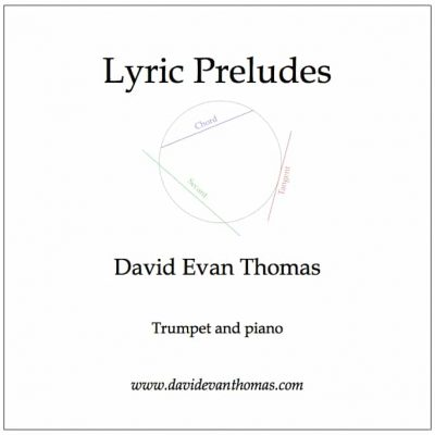Lyric Preludes text with circle