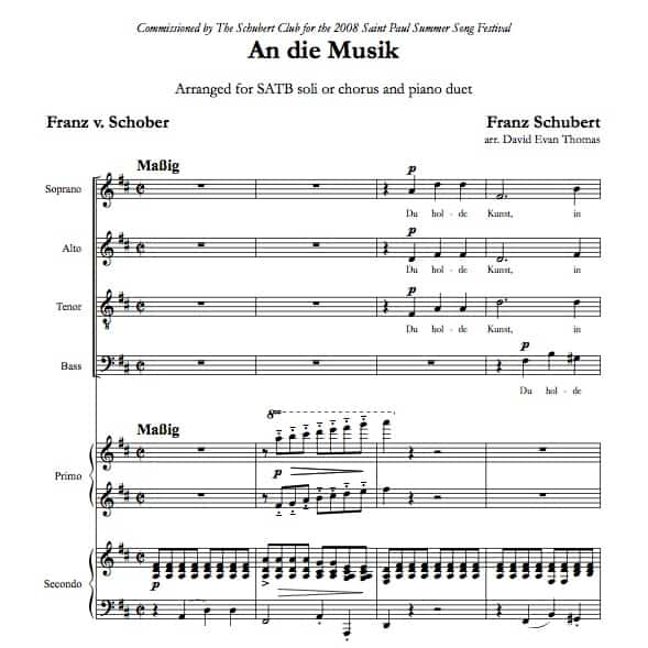 To music score product image