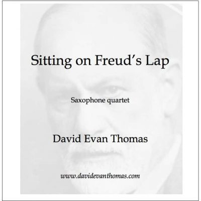 portrait of Sigmund Freud for saxophone quartet product image
