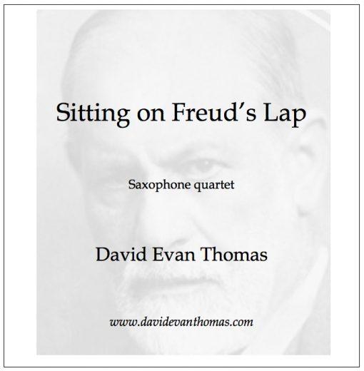 portrait of Sigmund Freud for saxophone quartet product image