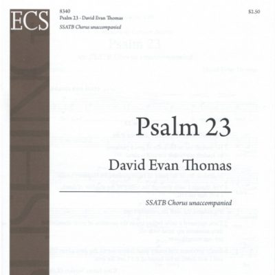 cover product image for 23rd Psalm