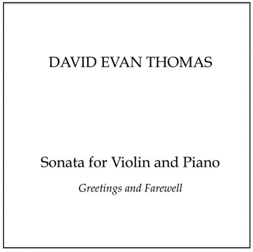 violin sonata product image