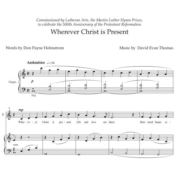 reformation anthem score image