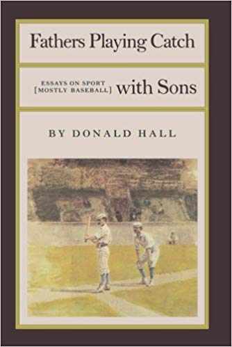 book cover: fathers playing catch
