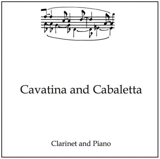 clarinet recital piece product image text