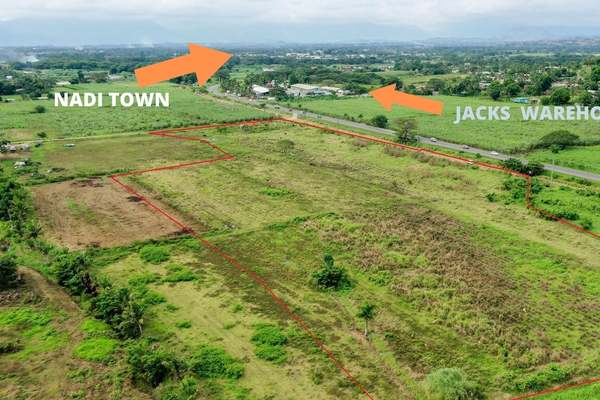 8.7 acre Industrial Crown Lease Nadi !!!