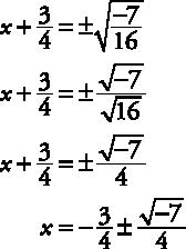 9.1 Solve Quadratic Equations Using the Square Root